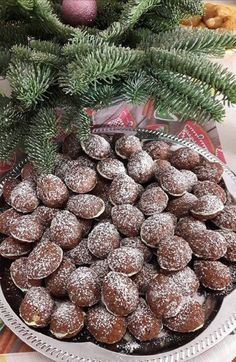 Christmas Sweets, Christmas Cookies, Bakery Recipes, Cooking Recipes, Hungarian Desserts, Cicely Mary Barker, Small Cake, Sweet Life, Cakes And More