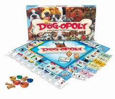 Eco-Friendly Dogopoly Board Game