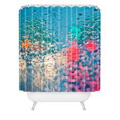 DENY Designs Home Accessories   Bird Wanna Whistle Rain Impression Shower Curtain