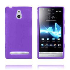 Soft Shell (Lilla) Sony Xperia P Deksel