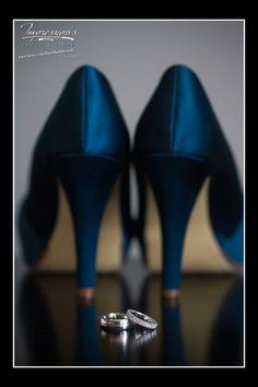 Photo by Impressions Photo & Video  www.impressionsphotoandvideo.com  #wedding #njwedding #bride #njbride #photography #njphotography #impressions #bling #somethingblue #weddingring #heels #ring