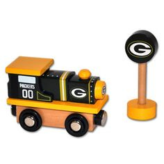 Fab.com | Wood Trains For Sports Fans