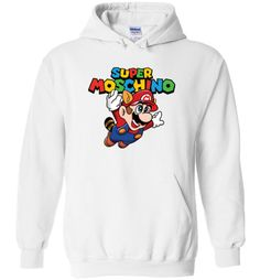 awesome Super Moschino Unisex hoodie