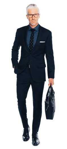 This elegant suit means business. Look great anywhere in this triple threat of…