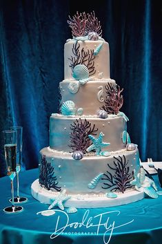 Wedding Cake Ella's Cakes Naples, FL by www.DoodleFlyPhot… – Wedding Cakes With Cupcakes Beach Themed Cakes, Beach Cakes, Themed Wedding Cakes, Beach Wedding Cupcakes, Wedding Cakes With Cupcakes, Cupcake Cakes, Beautiful Wedding Cakes, Gorgeous Cakes, Amazing Cakes