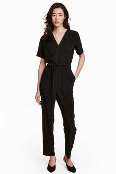 Jumpsuit - Black - Ladies | H&M GB 1