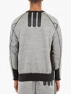 Grey Engineered Technical Sweatshirt,
