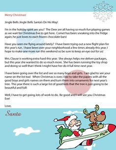 letter about santa claus this letter from santa claus for adults or 9900