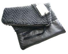 Pochette  borsa a mano  pochette grigia  pochette da di BAGSaraGui