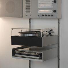 Braun L 450 / TS 45 / PCS 52E / Vitsoe 606 by das programm http://flic.kr/p/nQ7Vge