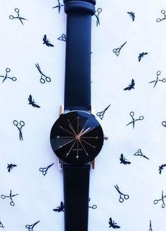 Kup mój przedmiot na #vintedpl http://www.vinted.pl/akcesoria/bizuteria/18330290-zegarek-czarny-galaxy-idealny-na-prezent-nowy