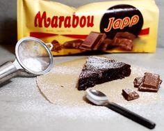 Magisk kladdkaka med ljust muscovadosocker & Japp! Baking Recipes, Cake Recipes, Dessert Recipes, Swedish Cookies, Mud Cake, Little Cakes, Viria, Dessert Drinks, Something Sweet