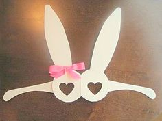 Manualidades en papel conejo de pascua | Solountip.com