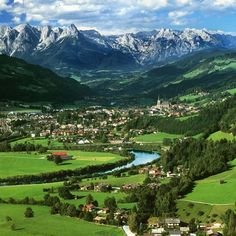 St. Johann im Pongau, Austria    This is where we went on our honeymoon and it is as beautiful in real life as it is in this picture. AMAZING