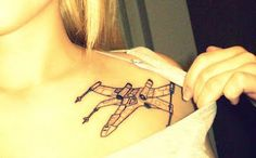 Nerd tattoo. :)   (I love the off the shoulder placement - Sparky)