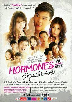 Hormones the series Hormones The Series, Thai Drama, Drama Movies, Dramas, Me Quotes, Thailand, Watch, Couples, Celebrities