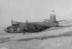 """Martin B-26 Marauder """"Bar Fly"""" of U.S. 9th Air Force in WW2"""