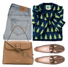 """""""Tree Farm"""" by hollowpoint-smile ❤ liked on Polyvore featuring Abercrombie & Fitch, Tod's and Burberry"""