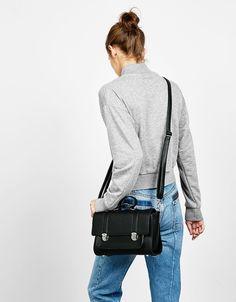 Torebka plecak typu satchel  - Bershka Poland (Zakupiono)
