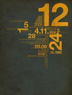 Diseño gráfico tipográfico