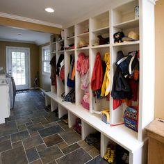 Laundry Room - Mud Room Design