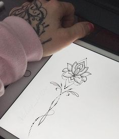 New Ideas tattoo handgelenk lotusblume Spine Tattoos, Foot Tattoos, Body Art Tattoos, Small Tattoos, Sleeve Tattoos, Thigh Tattoos, Garter Tattoos, Rosary Tattoos, Crown Tattoos