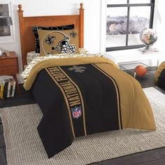 Super cozy and soft, this official NFL twin applique comforter set by the. Northwest 64 x 86 Buffalo Bills NFL twin comforter set, soft & cozy. This set features soft, applique on the comforter and includes 1 printed. Twin Comforter Sets, Bedding Sets, Yellow Bedding, Denver Broncos, Seattle Seahawks, Nfl Seahawks, Nfl Seattle, Football Bedding, Sports Bedding
