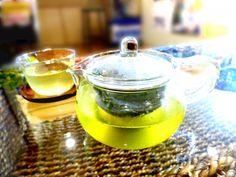水出し緑茶 ガラスの急須