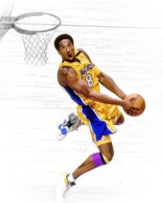 Throwback of Kobe dunking in his young days via RareInk    http://weheartlakers.com