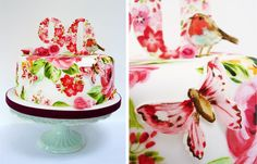 Amelies House: Painted Cake