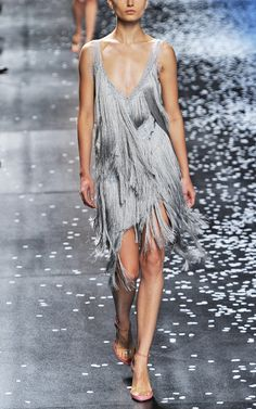 Always love a good fringed dress....