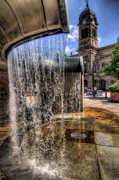 Derby Market Place Fountain