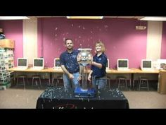 Van de Graaff Confetti Explosion - YouTube