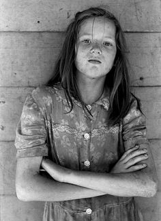 Appalachian girl in Kentucky, 1964 : TheWayWeWere