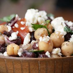 Chickpea And Black Bean Salad Recipe by Tasty