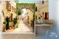 Fotomurales: Toscana Italiana #fotomural #mural #pared #decoracion #deco #TeleAdhesivo