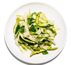 Asparagus Salad With Gruyère And Herbs