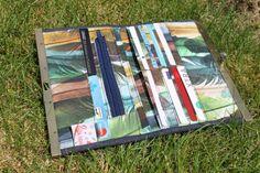 Rozy slimline wallet Serial bagmakers – Flaflinko