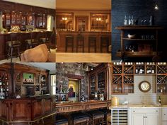 Home Bar Bar Pics, Home Bar Designs, Basement Remodeling, Basement Ideas,  Building