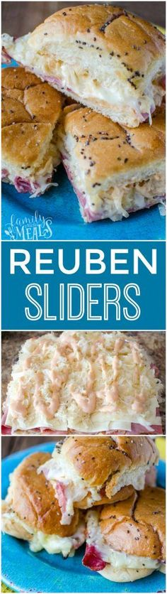 Frugal Food Items - How To Prepare Dinner And Luxuriate In Delightful Meals Without Having Shelling Out A Fortune Reuben Sliders Recipe - Yum- Pastas Recipes, Cooking Recipes, Ark Recipes, Lunch Recipes, Beef Recipes, Chicken Recipes, Sausage Recipes, Sandwich Recipes, Recipes Dinner