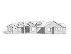 Valley View House Plan - Night Exterior | Walker Home Design ...