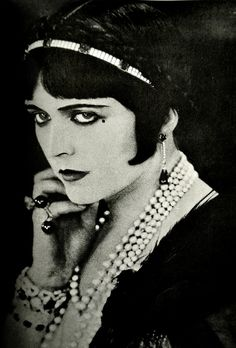Pola Negri - my fashion icon and second favourite actress of all time.