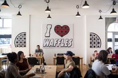 The top 10 kid friendly brunch restaurants in Toronto Brunch Places, Waffle Sandwich, New Things To Try, Waffle House, Toronto Life, Cult Following, Little Italy, Great Restaurants, Types Of Food