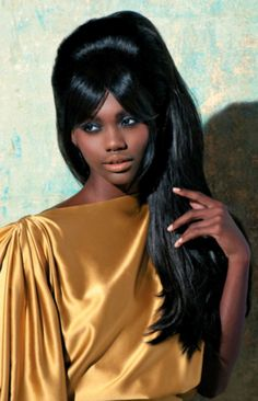 Ken Paves created this long style with extensions, exclusively for the November 2011 issue of American Salon.