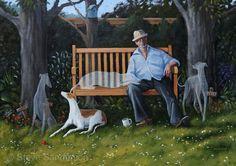 Steve Sanderson. One of my favorite paintings. He's a genius.
