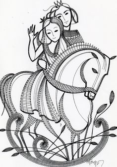 Looks like the illustration from a middle European fairy tale. Aha, now that I am reading, it is an illustration from Snow White and the Seven Dwarves. Bobbin Lace Patterns, Tatting Patterns, Embroidery Patterns, Horse Hair Jewelry, Lace Art, Cutwork Embroidery, Thread Art, Lace Making, Adult Coloring Pages