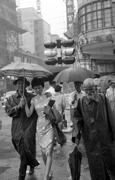 A rainy day. Il pleut.