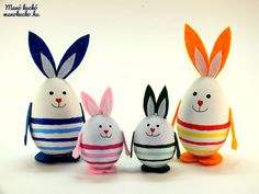 Easter Arts And Crafts, Bunny Crafts, Crafts For Kids, Easter Tree, Easter Bunny, Easter Eggs, Kobold, Diy Ostern, Ideias Diy