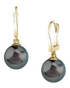 Tahitian South Sea Pearl Classic Elegance Earrings