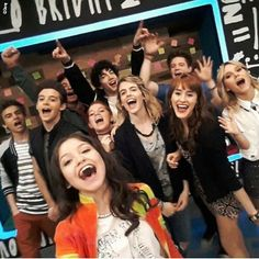 Soy Luna ☜ @soylunacl Primera selfie of...Instagram photo